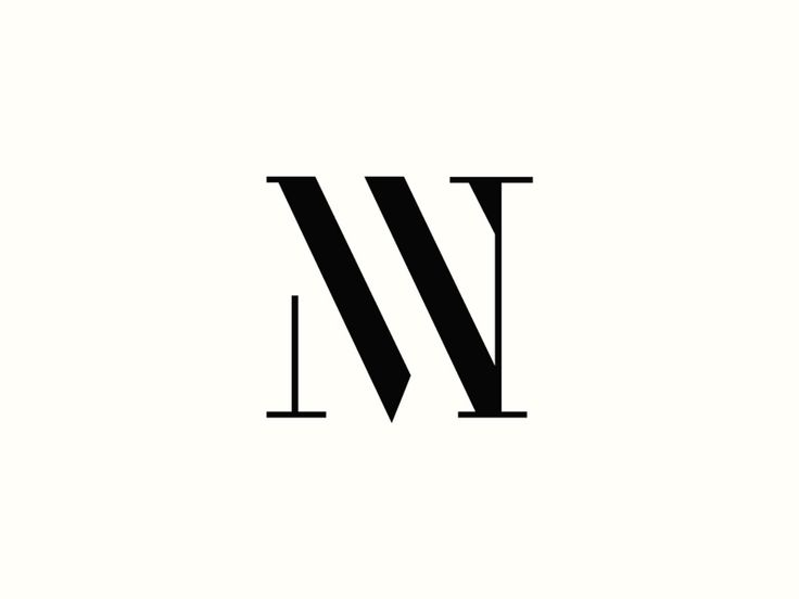 MW Monogram  by Rich Baird #Design Popular #Dribbble #shots
