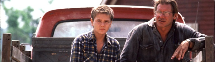 """He's really great. He wasn't a 'movie star,' and it was nice to hang out with him. I just can't stand movie stars, the kind who think they're special. We all get up in the morning, go to the bathroom, take a shower, eat breakfast. We're all pretty much the same."" ~River Phoenix on working with Harrison Ford in The Mosquito Coast"