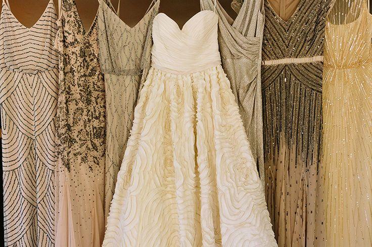 Beaded Bridesmaids Dresses | Photo by Matt Edge Weddings