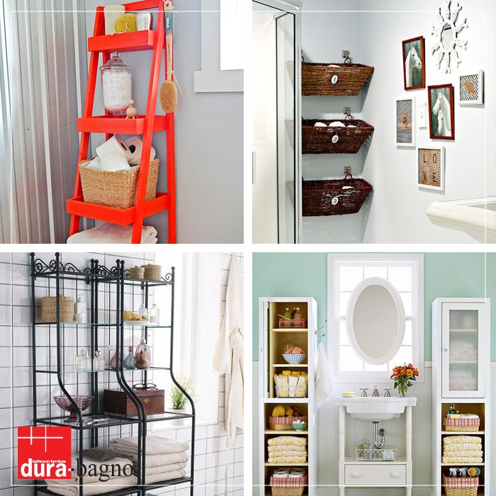Banyolarındaki kalabalıktan sıkılanlar için ideal depolama çözümleri...