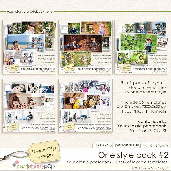 One style pack #2 (Jasmin-Olya Designs)