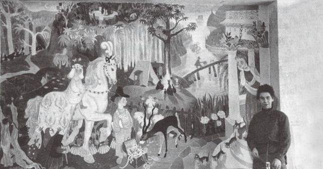 Tove Jansson_Mural_Kotka_Kindergarten_1949_featured