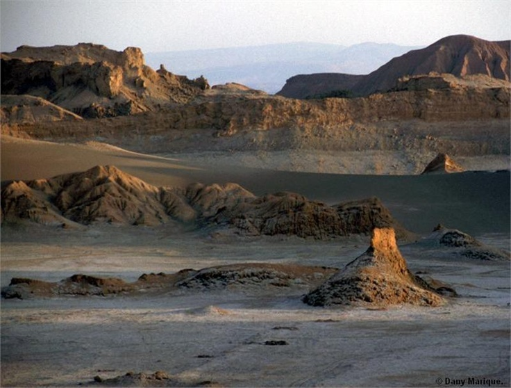 Valle de la Luna in the Atacama desert, Chile, by Dany Marique