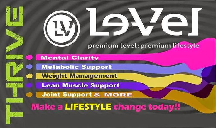 Are you looking for mental clarity, metabolic support, weight management, lean muscle support, joint support, and more??  If so it's time for you to try the Thrive Experience by Le-vel.