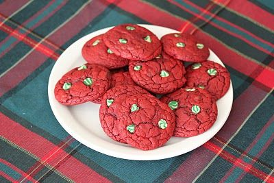 cookies: Cakes Mixed, San Diego, Chocolates Chips Cookies, Diego Food, Red Velvet Cookies, Food Blog, Redvelvet, Velvet Chocolates, Fast Recipe