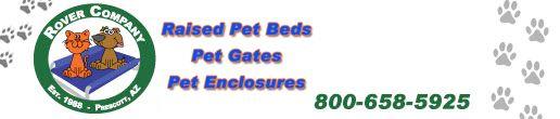 Rover Company Pet Beds, Pet Gates, Pet Enclosures and More