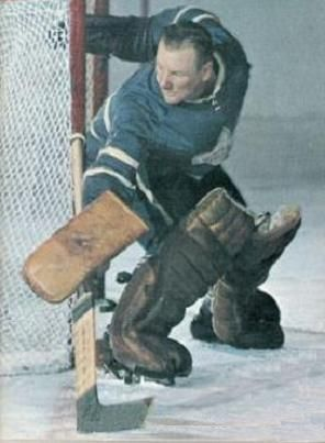 Johnny Bower was inducted into the Hall of Fame in 1976. http://rickostler.com/contact-sports-collectables/