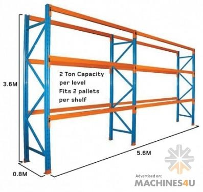 Dexion Bulk Pallet Racking Stock Discount Prices Must Go! - http://www.machines4u.com.au/browse/Material-Handling/Racking-Shelving-Storage-322/Racking-1473/