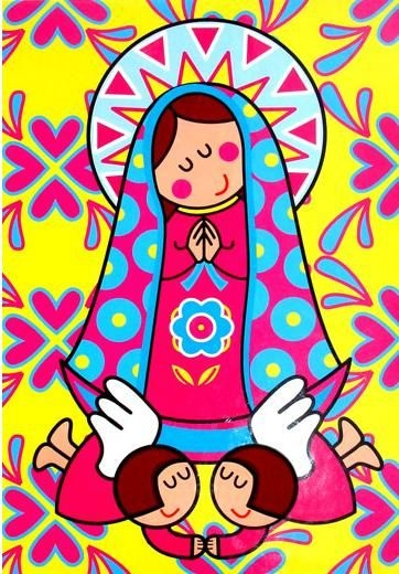 Virgen Guadalupe.-