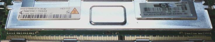 Qimonda / HP 512MB PC2-5300 DDR2-667MHz ECC FB CL5 240-Pin DIMM HYS72T64400EFA-3S-B2