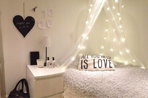 Tiny teens room