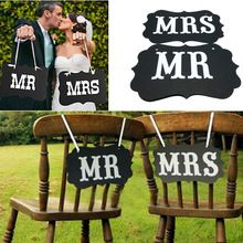 """1 set """"Mr&Mrs"""" Letter Garland Banner Photo Booth Wedding party Photography Props(China (Mainland))"""