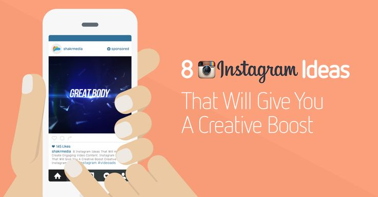 #Instagram - 8 Instagram Ideas That Will Give You A Creative Boost
