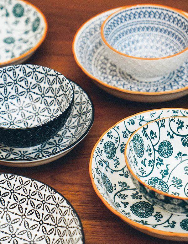 Batik Ornate Rice Bowl