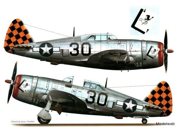 P-47 325th FG