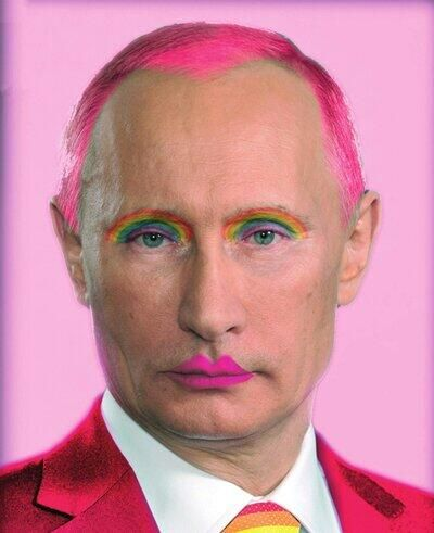 Very liberal:meaning, Putin-like, not bigoted at all. http://www.towleroad.com/2014/05/very-liberal-vladimir-putin-attacks-conchita-wurst.ht...