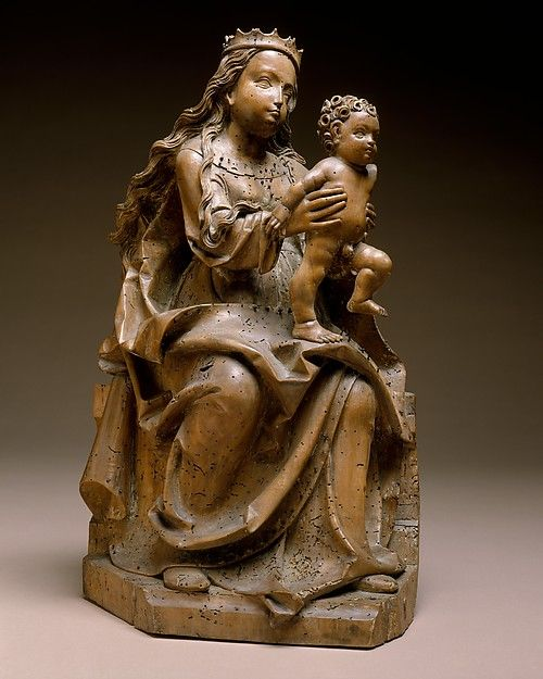 Virgin & Child  --  Circa 1510-15  --  Master of Rabenden  --  Germany  --  Limewood w/ traces of polychromy  --  The Metropolitan Museum of Art