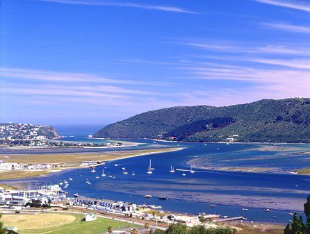 "Knysna, South Africa. ""Top 100 Destinations in the World Trip Advisor 2008 Travelers' Choice Destinations Awards'."
