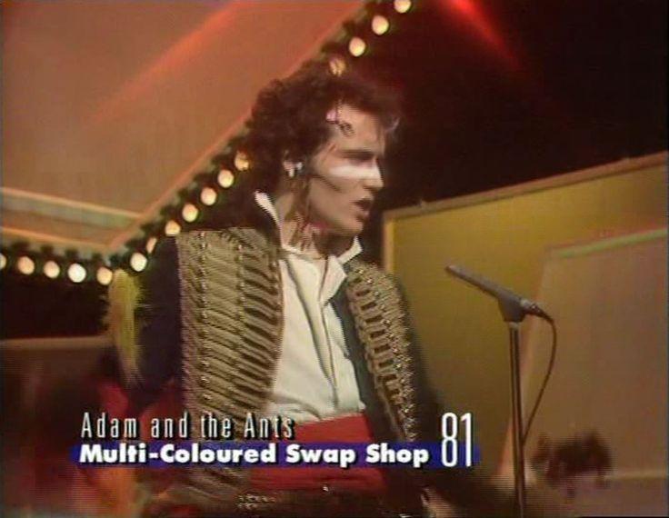 Adam & The Ants, Multi-Coloured Swap Shop, 1981.
