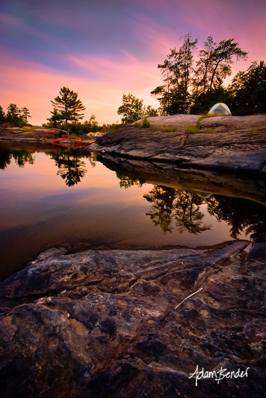 The French River, Ontario.