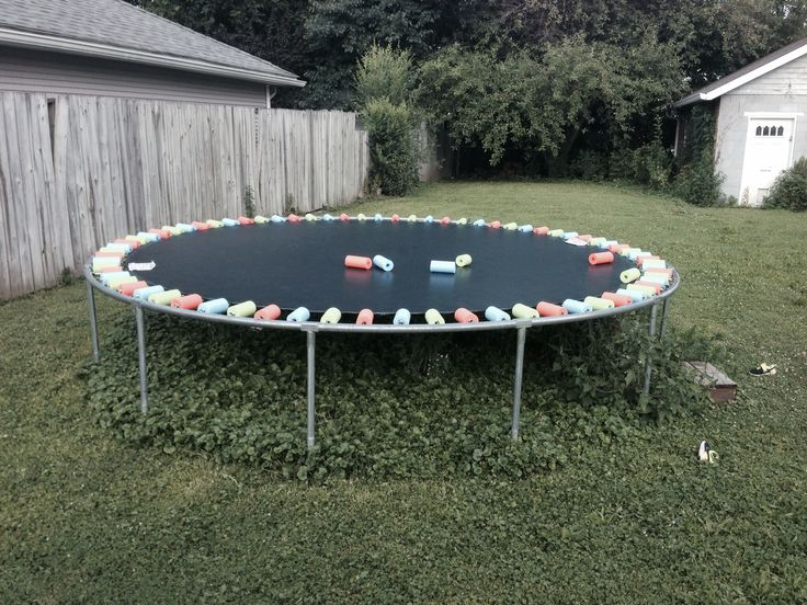 25 best ideas about trampoline spring cover on pinterest backyard trampoline pool noodle. Black Bedroom Furniture Sets. Home Design Ideas