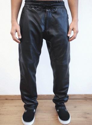 Clothsurgeon full nappa leather sweatpants