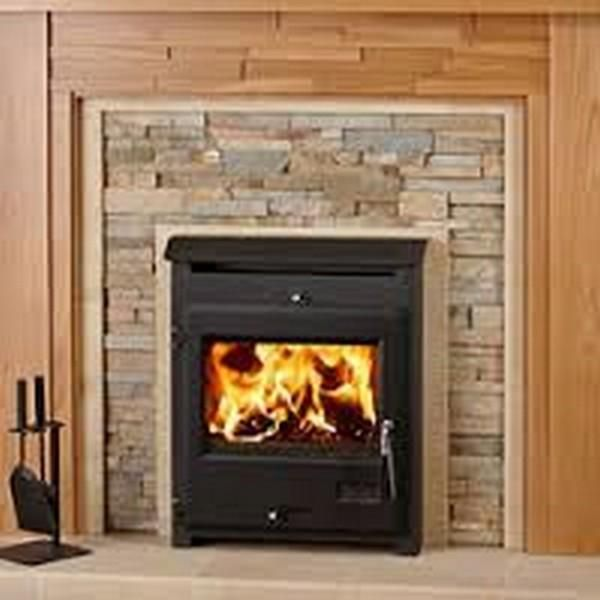 21 best stoves images on pinterest mantles electric fireplaces and fireplace surrounds. Black Bedroom Furniture Sets. Home Design Ideas