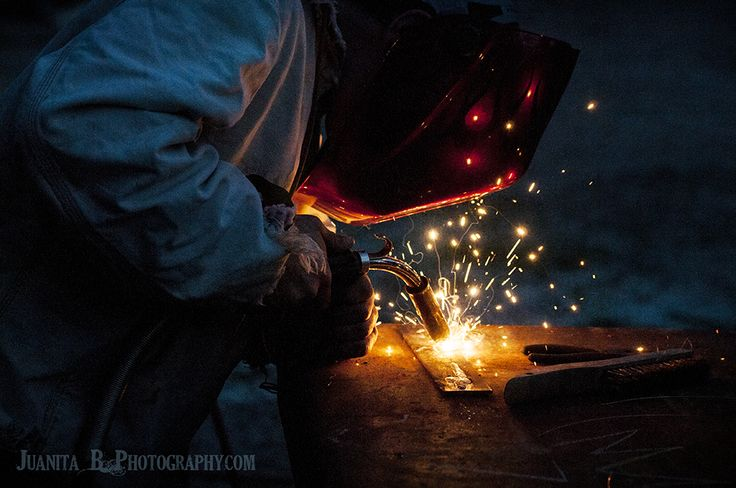 Utah High School Senior Portraits, welding, skill