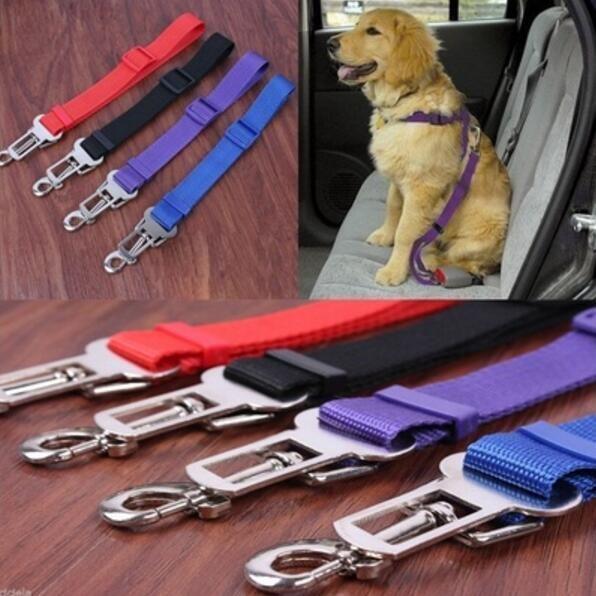 Cat Dog Pet Safety Car Vehicle Strap Seatbelt Seat Belt Adjustable Harness Lead Pet Car Safety Pet Leash Pet Seat Belt