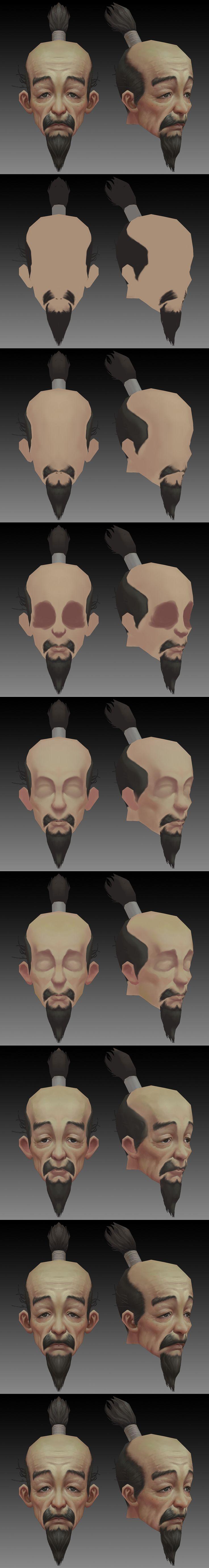 Face - Steps