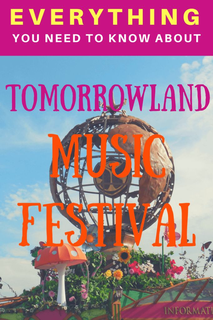 Planning to attend Tomorrowland Music Festival in Boom, Belgium? Here is EVERYTHING you NEED to know about Tomorrowland. | Tips on how to purchase tickets, what to expect, and how to prepare. | Music Festivals | Boom, Belgium