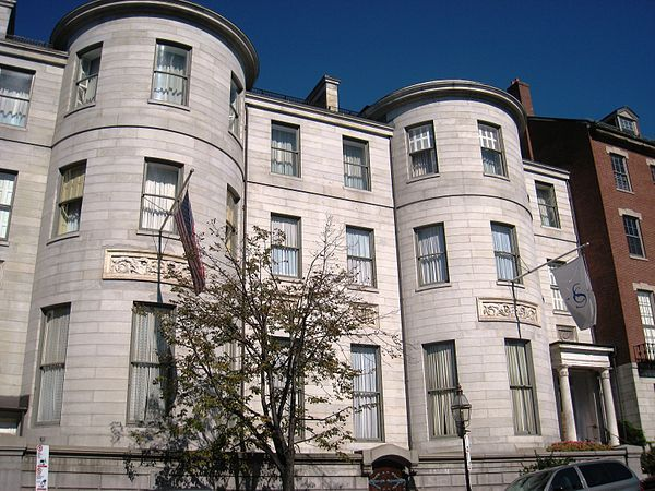 The Somerset Club is a private social club in Boston, Massachusetts