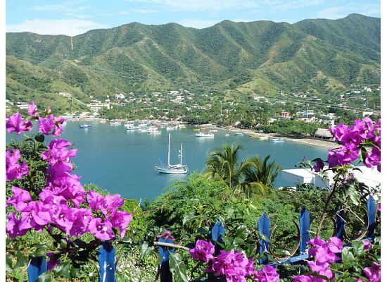 Santa Marta and Taganga coast of Colombia. Olen saanut todistaa livenä tämän kauneuden.