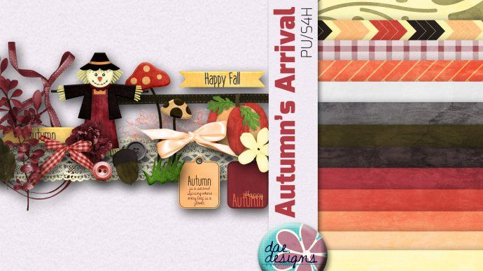 Autumn's Arrival by Dae Designs