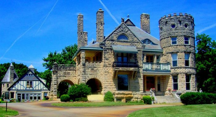 11 Castles in KS--  Sauer – KC; Caenen- Shawnee; Campbell- Wichita; Castle Tea Room- Lawrence; Coronado Heights- Lindsborg; Cray- Atchison; Russell County Fossil Station- Russell; Kimble- Manhattan; Matrot- Topeka; Nichols Hall- Manhattan; Eaves- Sedgwick.
