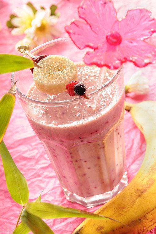 Smoothie aux fruits rouges, recette de smoothie aux fruits rouges
