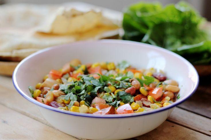 Recept voor een Keniaanse bonenschotel en een leuke actie van HAK. Een moestuintje is pas compleet met bonen erbij!