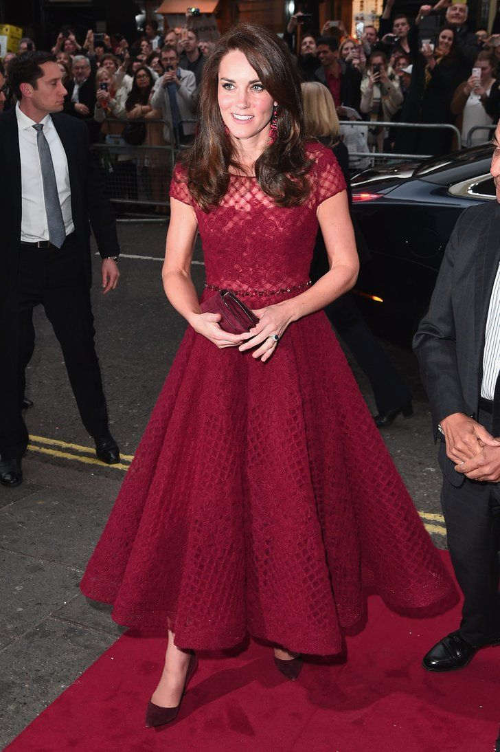 The Dress That Made Kate Middleton Look More Princessy Than Ever