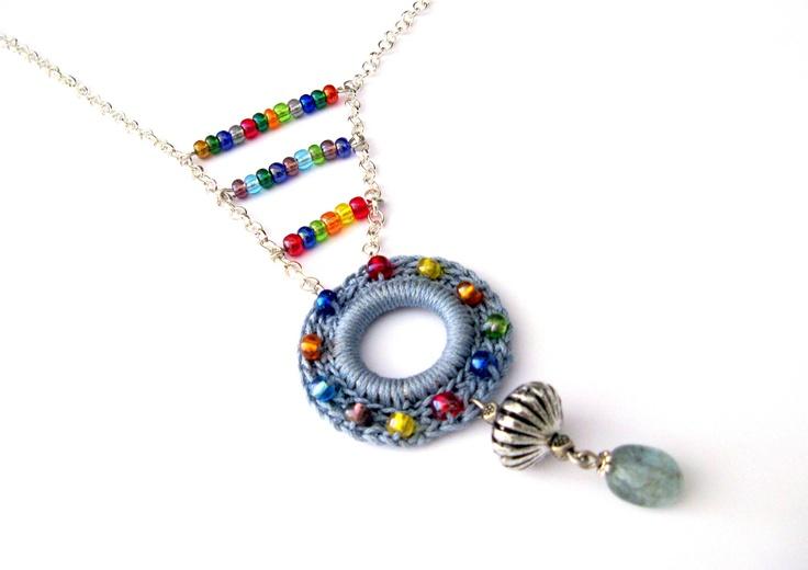 Ethnic Boho Crochet Necklace  https://www.etsy.com/listing/129540666/collana-ethnic-arcoiris-crochet-perle-in?ref=shop_home_active