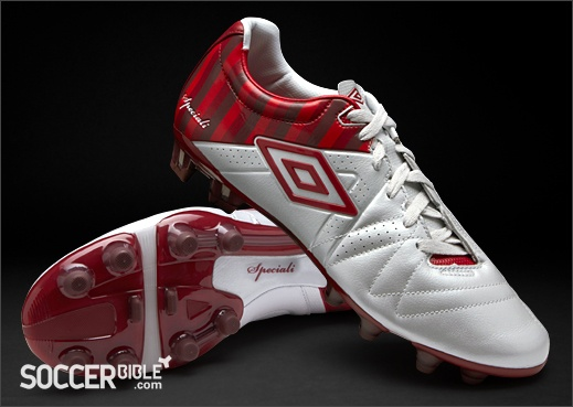 Umbro Speciali III Pro Football Boots - St George Collection - White/Vermillion/Claret http://www.soccerbible.com/news/football-boots/archive/2012/04/23/umbro-speciali-iii-pro-football-boots-st-george-collection-white-vermillion-claret.aspx