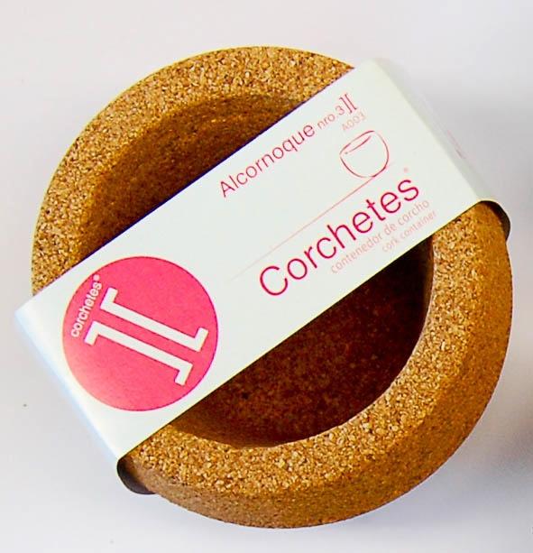 Cork bowl by Corchetes][