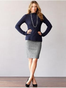 sweater pencil skirt favorite clothes