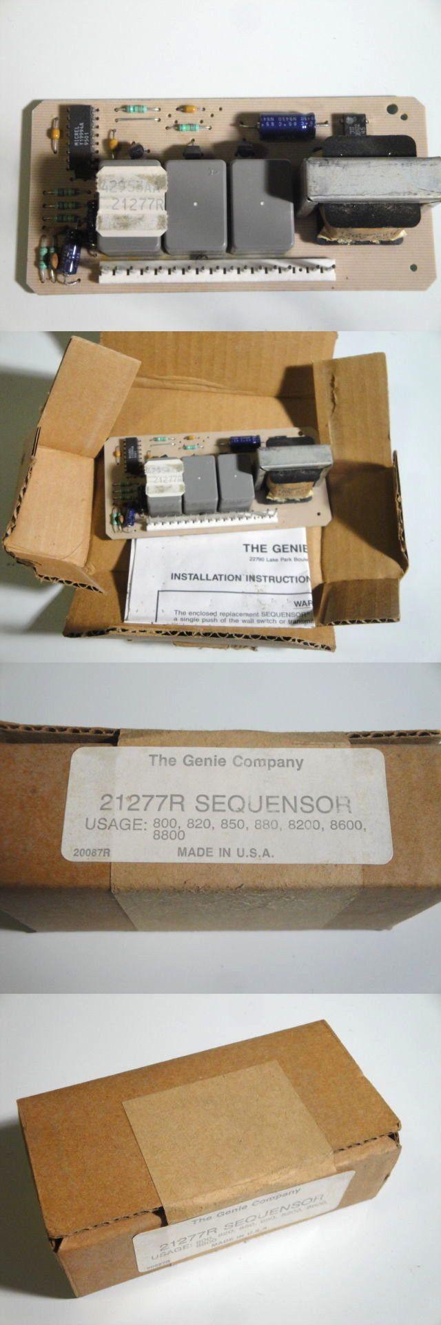 Other Garage Door Equipment 180973: Brand New Genie Garage Door Opener Sequensor Logic Board 21277R Alliance -> BUY IT NOW ONLY: $31.95 on eBay!