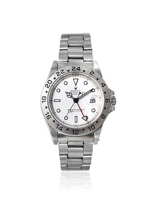 Rolex Men's Explorer White Stainless Steel Watch