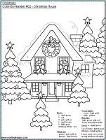 FREE Printable Christmas Color-by-Number