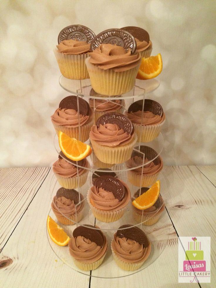 Chocolate orange cupcakes- Easter treat