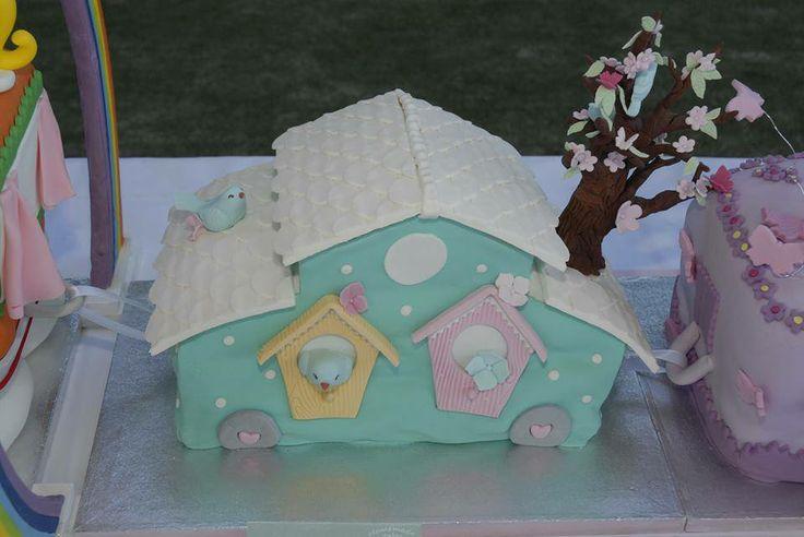 Bird's cake