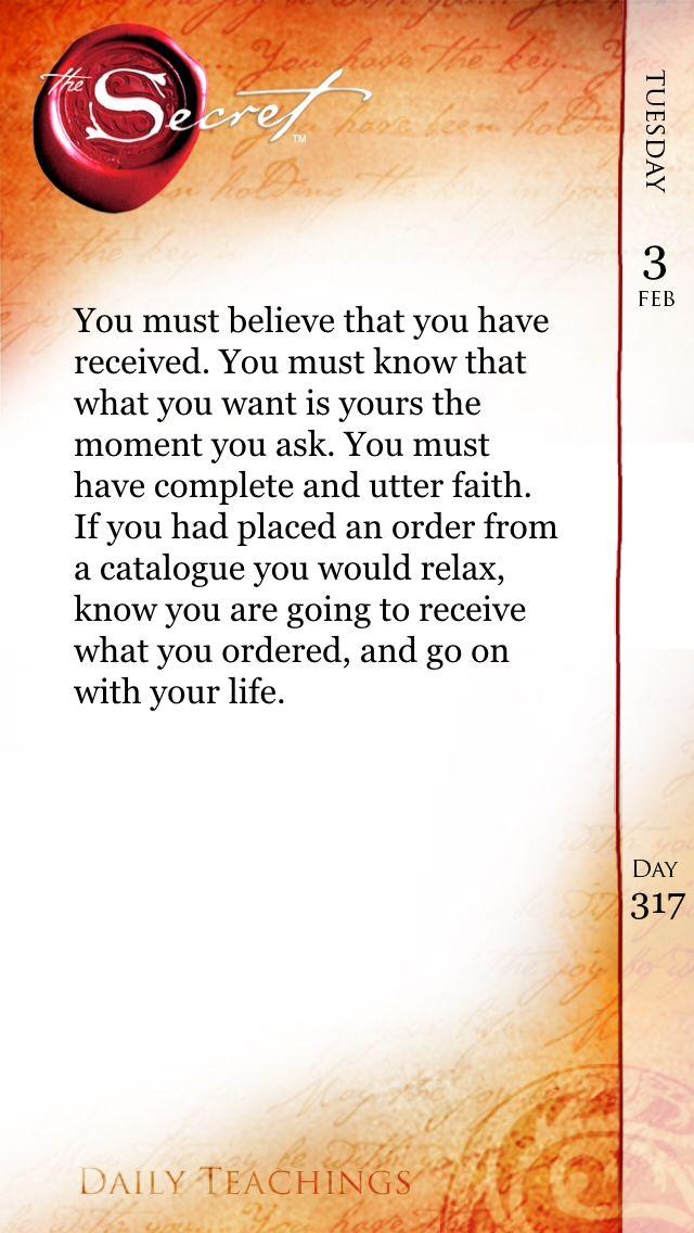 Ask. Believe. Receive. #Gratitude365