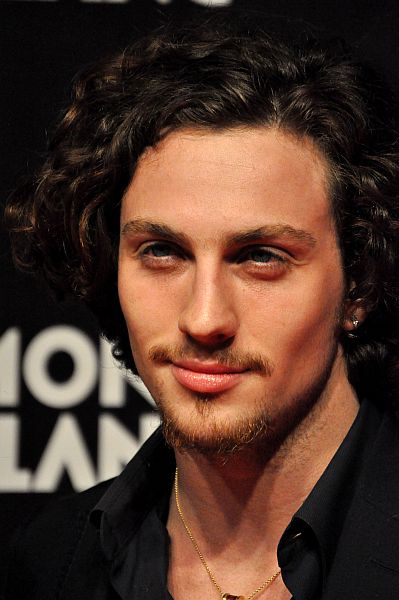 love his eyes, Aaron Johnson