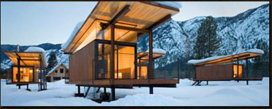 I want to stay here, Rolling Huts in Washington's Methow Valley